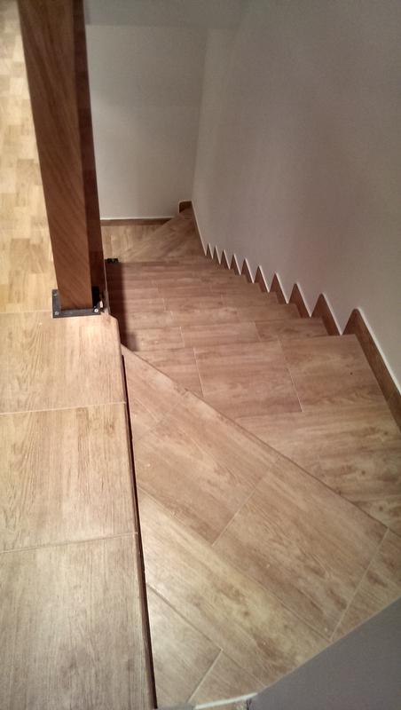 Escaleras de gres plabex - Peldano porcelanico ...